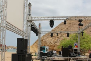 Hire Stage & Truss From Bright Lights, Muscat Oman