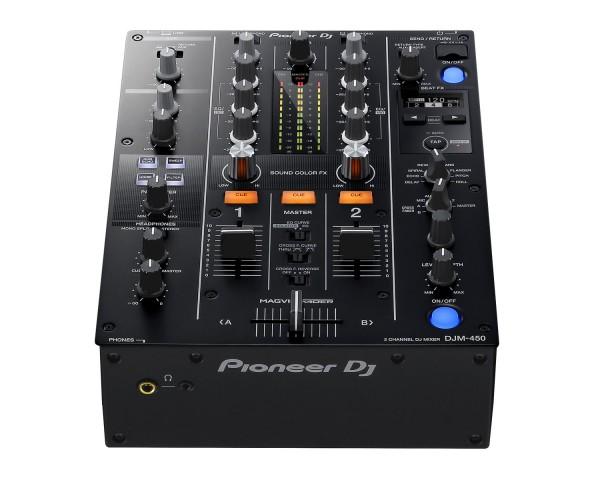 DJM450K 2Ch DJ Mixer with USB & On-Board Effects BLACK