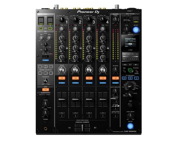 DJM900NXS2 4Ch 64-Bit Professional DJ/Club Mixer
